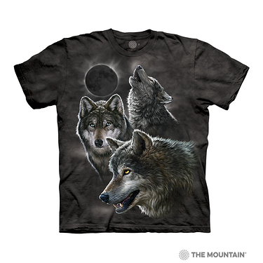 T-shirt Adulte Eclipse Wolves