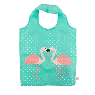 Sac de course Flamant rose