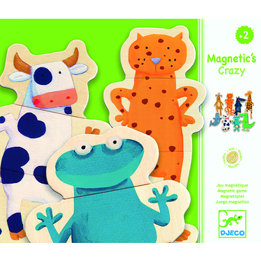 Magnets puzzle Crazy Animaux