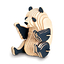 Kit de construction en bois - Panda