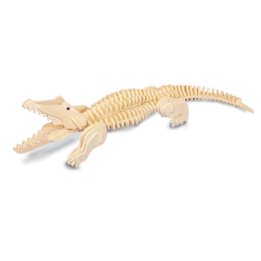 Kit de construction en bois - Crocodile