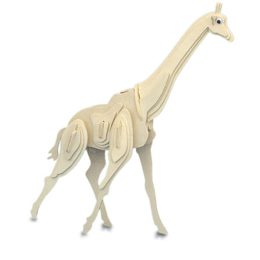 Kit de construction en bois - Girafe