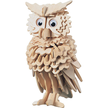 Kit de construction en bois - Hibou