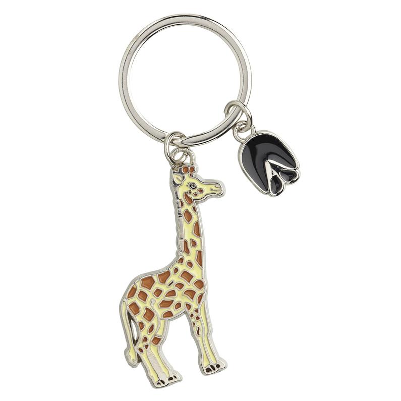 Magnifique Wrendale Porte-Clés-Fleurs-Girafe NEUF